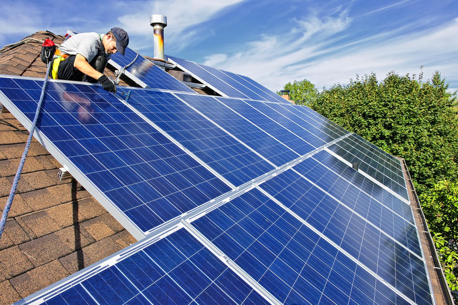 Solar panels Texas