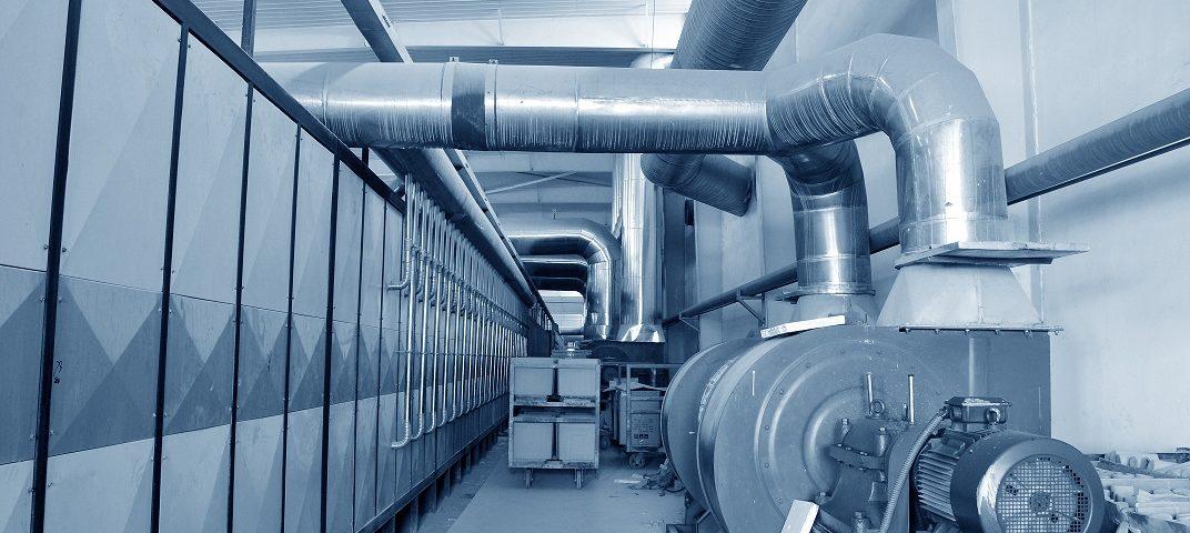 czyszczenie instalacji przemysłowej